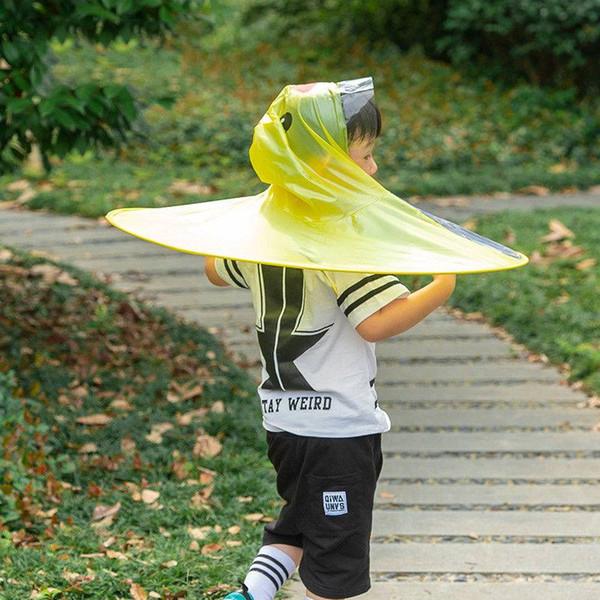 precio de calle elige mejor cómo hacer pedidos Compre Lindo Pato De Dibujos Animados Para Niños Chubasquero Paraguas UFO  Forma Sombrero De Lluvia Cabo A $12.65 Del Hyperbole | DHgate.Com
