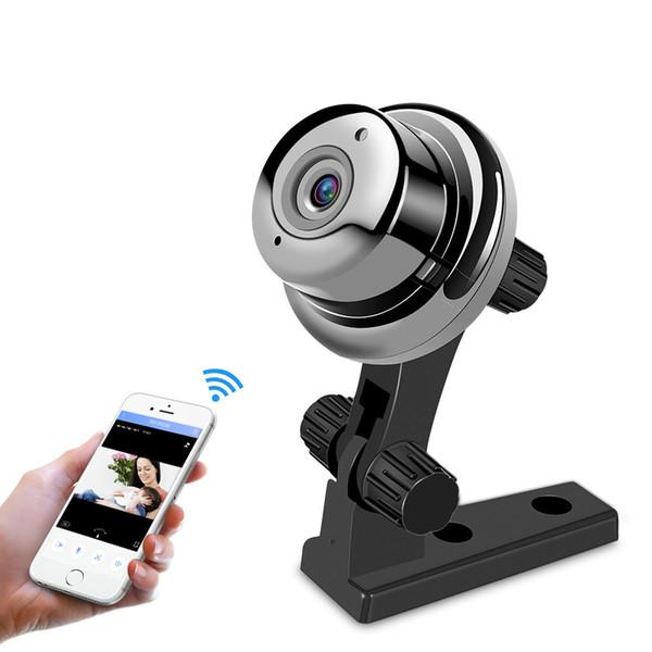 Mini Balıkgözü IP Kamera 720 P Gündüz Gece Görüş 360 CCTV Kamera Panorama Video Gözetim Ev Güvenlik Wi-Fi Bebek Monitörü