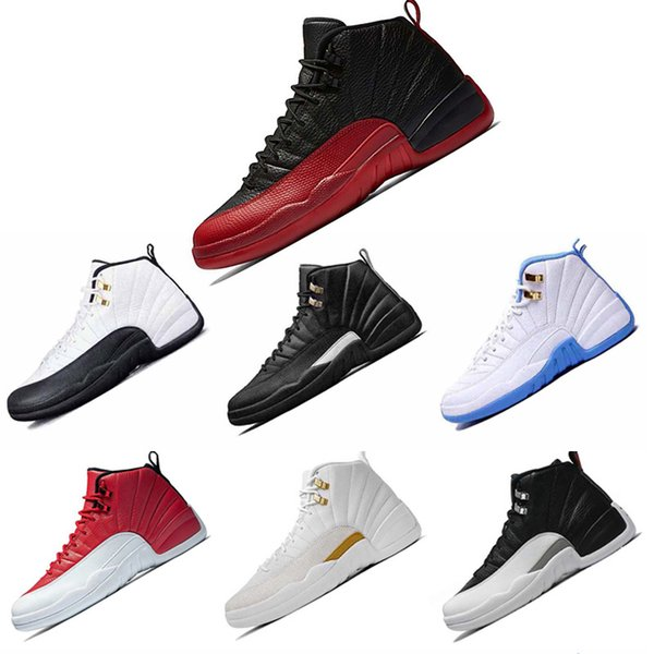 pretty cool 100% high quality clearance prices Acheter Nike Air Jordan 12 12s Blanc Gym Rouge Gris Foncé ...