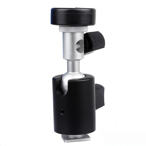 Type C 360 Degree Swivel Camera Flash Hot Shoe Stand Bracket Umbrella Holder New