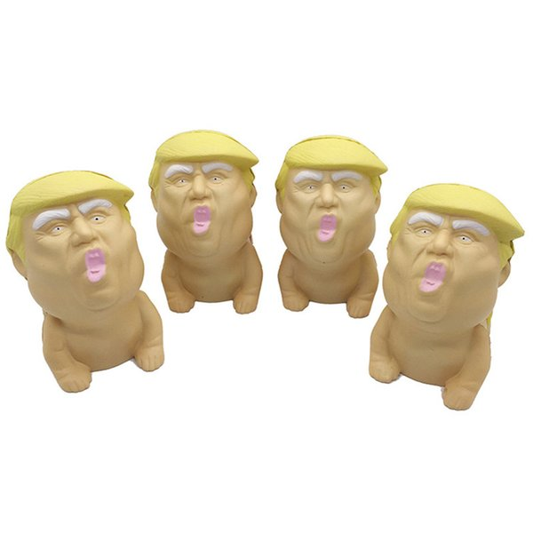Squeeze Toy Baby Trump Donald Mr Trump Stress Squeeze Ball Squishy Pressure Relief Toy Cool Novelty Great Stocking Stuffer Gag Gift Fun