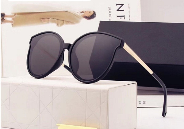 2018 High Quality Brand Sun glasses mens Fashion Evidence Sunglasses Designer Eyewear For mens Womens Sun glasses new glasses 5 color 1208