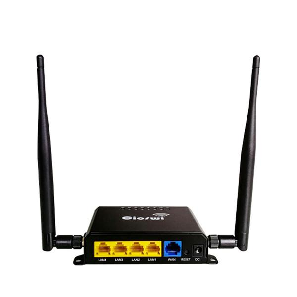 Мощный чипсет QCA9531 Wi-Fi Router rj45 openWRT 300 Мбит / с 802.11b / g / n Мобильная точка доступа WiFi с функцией сторожевого таймера 128 МБ памяти
