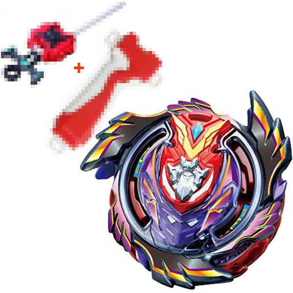 best selling Bayblades BLACK Victory Strike God Valkyrie   Valtryek Infinite B-96 STARTER With Grip (RED) + L-R Launcher (RED) Kids Gifts