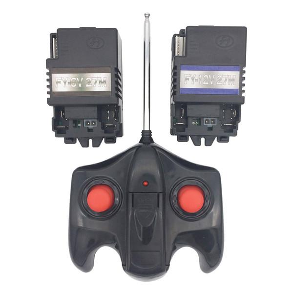 Telecomando da 27mhz auto elettrica per bambini e ricevitore FY-27M-12V, ricevitore telecomando per veicolo elettrico per bambini -12V / 6V