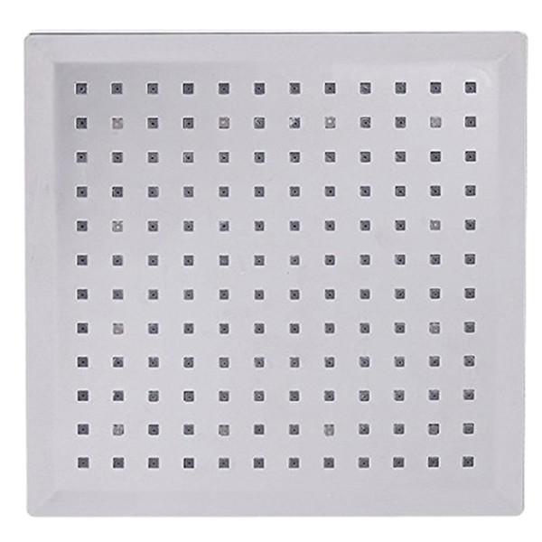 8-Zoll-Multi-Color-LED-Licht Square Geformte Wasser Duschkopf Dusche Wasserhahn Düse