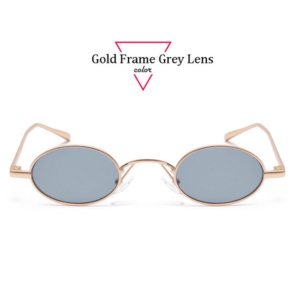 Gold Frame Lente Grigio