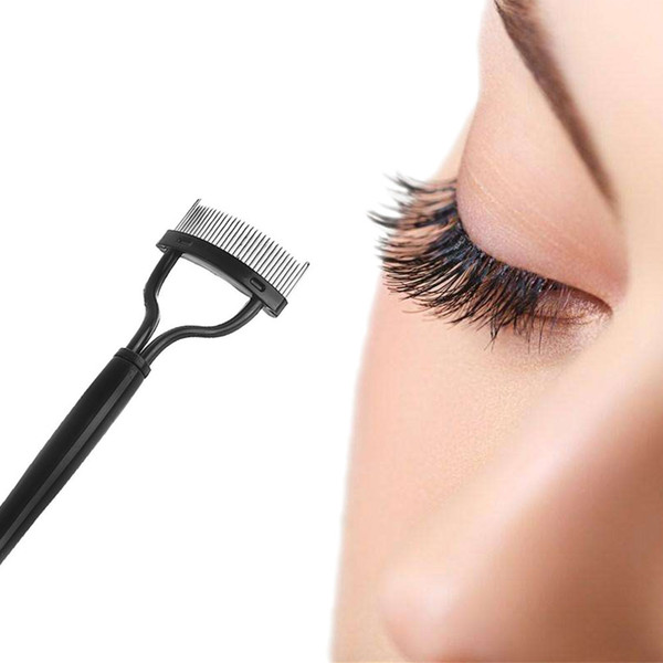 1 Piece Useful Makeup Beauty Mascara Guide Applicator Eyelashes Comb Curler Beauty Eye Lashes Essential Tool