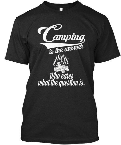 One-of-a-kind bivouac Is The Answer - Who Cares What Question Stylisches T-Shirt