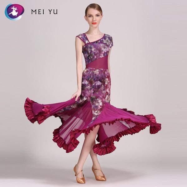 Mei yu 318 e 78 traje de dança moderna top collant e saia ternos vestido de dança traje de baile mulheres lady evening party dress