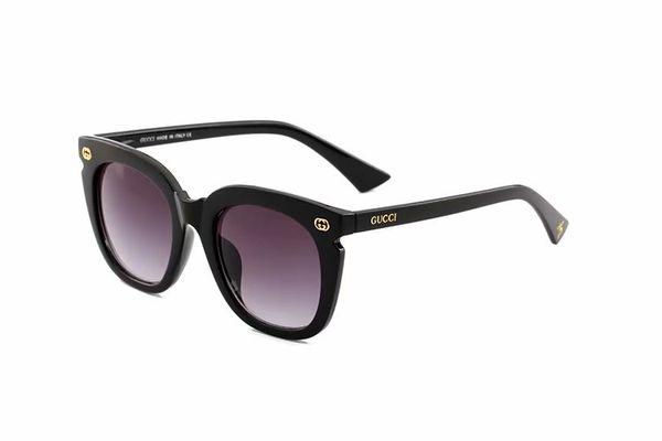 Top Quality New Fashion Sunglasses For Man Woman Erika Eyewear Designe Brand Sun Glasses Matt Leopard Gradient UV400 no box and Cases