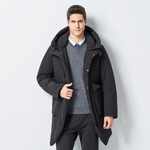 New 6 Business Mann Casual Großhandel Despicable me106 Lange Kleidung Mode Männlichen Winterjacke Windjacke Herren Mantel Von Männer Warme cJTl1FK3