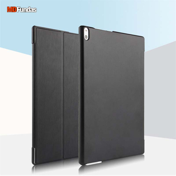 MDFUNDAS Tablets Capa Para Lenovo Tab 4 10 Mais TB-X704F TB-X704N Luxo Auto-sono Caso De Couro De Despertar Para Lenovo Tab 4 Mais 10