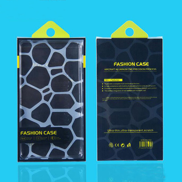 300pcs for Display Custom printing PVC Retail Package Universal Packing Packaging Blister Box Bag for iphone XR 8 7 6 plus Phone Case