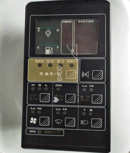7824-72-2001 PC200-5 PC400-5 panel de monitor de excavadora ass'y