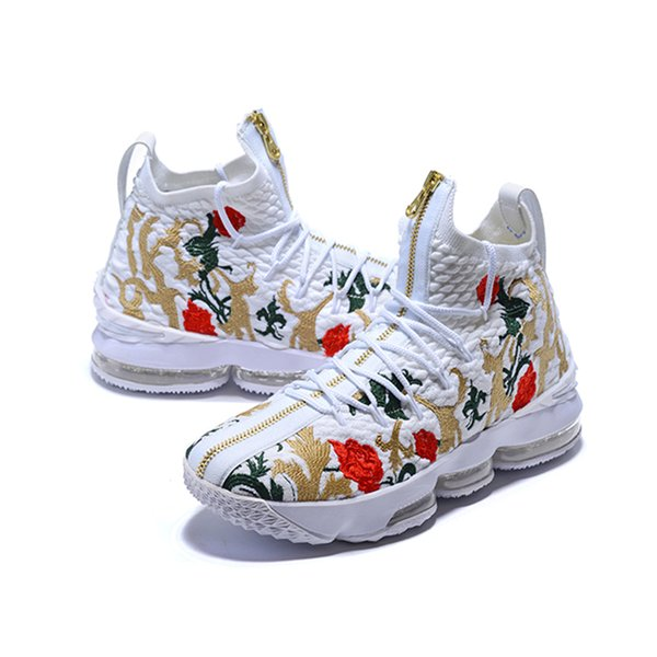 2018 HOT designer shoes 15 Basketball Shoes for Mens luxury 15s Equality BHM Graffiti Sports shoes MVP Training Sneakers Ashes XV Size 40-46