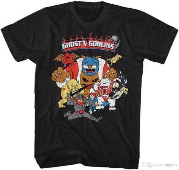 Fantasma e duendes Goblins Arthur Capcom vídeo game adulto T Shirt
