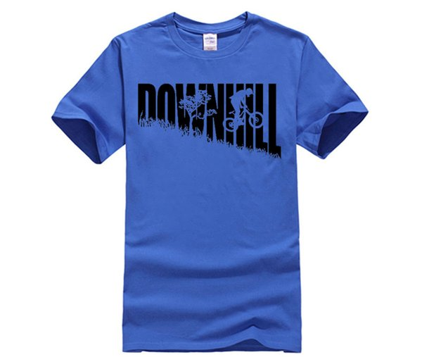 Lustige Geek T-Shirts Downhill Freeride MTB Mountain MTB Reiten Zyklus Bikecross Jugend Runde Kragen Sleeve T