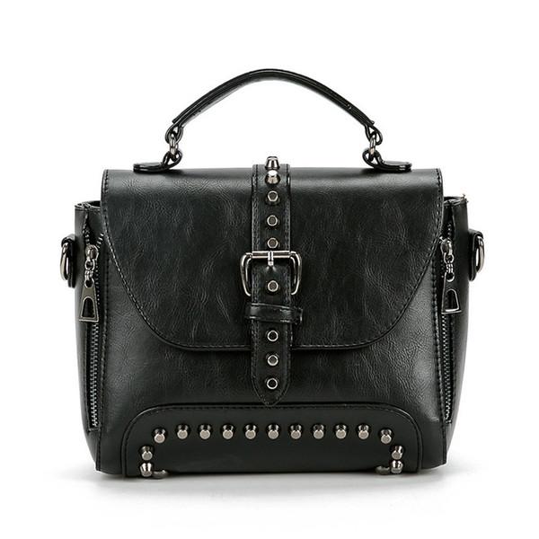 Borsetta Donna Per Ragazze Donne Marrone Genuine Leather Wallet borsa con tasche