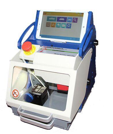 Best 100% Original DHL free TOP Quality Full-Automatic Car Key Cutting Machine SEC-E9z CNC automatic key cutting machine Multi Language