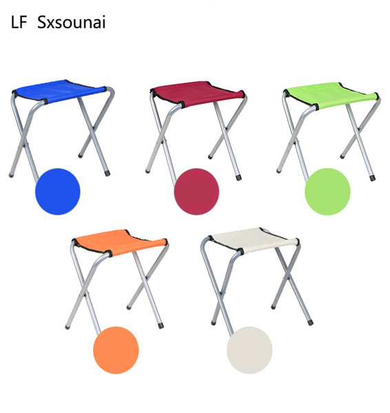 Marvelous 2019 Lf Sxsouna Oxford Cloth Patio Benches Folding Stool Portable Metal Back Small Bench Fishing Mazar Outdoor Small Chair Train Low Stool From Evergreenethics Interior Chair Design Evergreenethicsorg