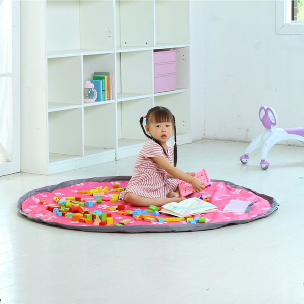 New Large Size Waterproof Indoor Outdoor Children Kids Travel Picnic Mat Rug Damproof Kids Toys as Bag Organizer
