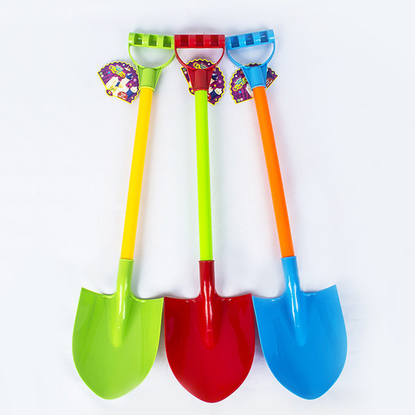 Children outdoor toys thick plastic tube beach shovel sand winter play snow digging snow tool small shovel