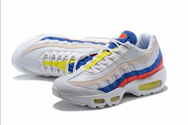 Hight Quality Mens Sports 95 Runner Shoes Ria Xam Black Men best Athletic walking Tennis Shoes Grey Man Training 36-45 Sneakers