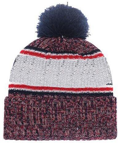 2019 Autumn Winter hat Sports Hats Custom Knitted Cap with Team Logo Sideline Cold Weather Knit hat Soft Warm New England Beanie Skull Cap