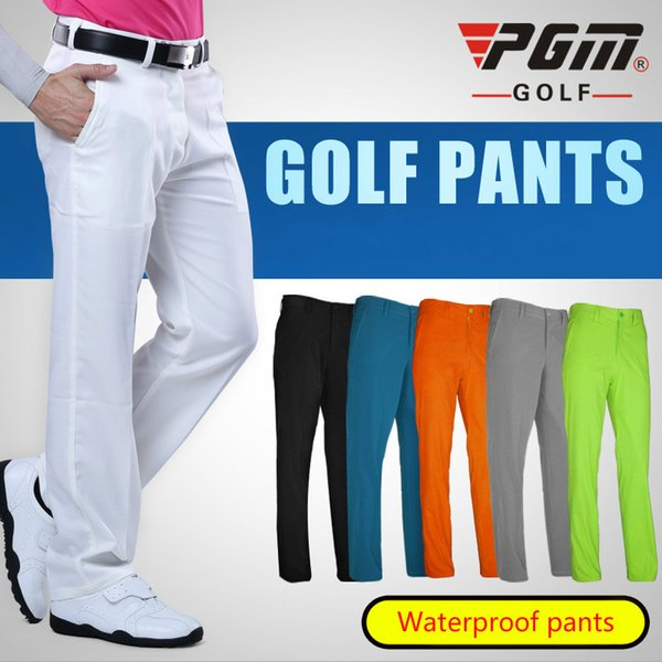 PGM Golf clothing Waterproof golf trousers for men Quick dry Summer Breathable Thin pants Plus size XXS-XXXL Apparel 2018