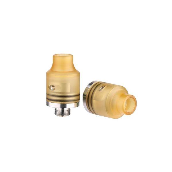 Demon Killer Tiny RDA sostituibile Atomizzatori Driping 14 MM di diametro con PEI PCTG Drip Tip Hollow Positive Pin per Squonk MOD di alta qualità