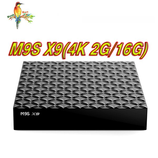 M9S X9 Smart TV Box 2GB 16GB Android 6.0 Rockchip RK3229 Quad Core 4K Google Streaming Media Player OTT Boxes Better X96 TX3 S905W