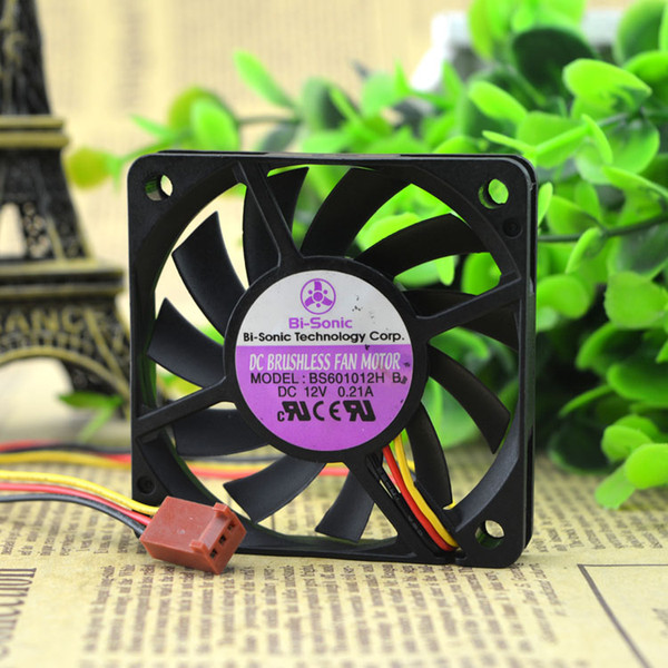 Free Delivery. BS601012H B 12 v 0.21 A 6 cm 6010 3 line cooling fan
