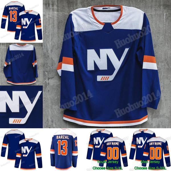 sports shoes a2a2d a9f2b 2018 2019 Third New York Islanders Anders Lee Matt Martin Leo Komarov  Eberle Thomas Hickey Ryan Pulock Mathew Barzal Josh Bailey Hockey Jerseys  From ...