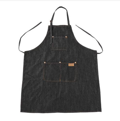 Hairdresser Apron Salon Hairdressing Cutting Barber Cape Professional Hair Cut Dyeing Cloth Cape Black Jean Haircut Capes