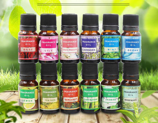 best selling Drop Ship Essential Oils For Aromatherapy Diffusers Pure Essential Oils Organic Body Massage Relax 10ml Fragrance Oil Skin Care