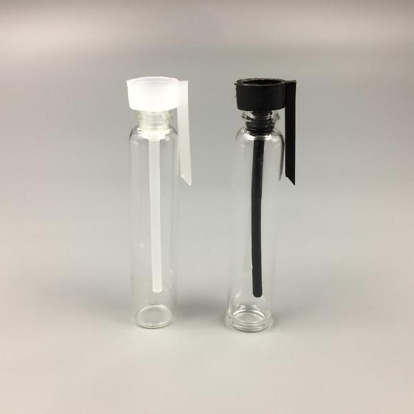 0.5 мл 1 мл 2 мл 3 мл стеклянный флакон духов эфирное масло прозрачный мини-пробирка путешествия грамм размер косметическая пустая бутылка тестер прозрачный для образца.