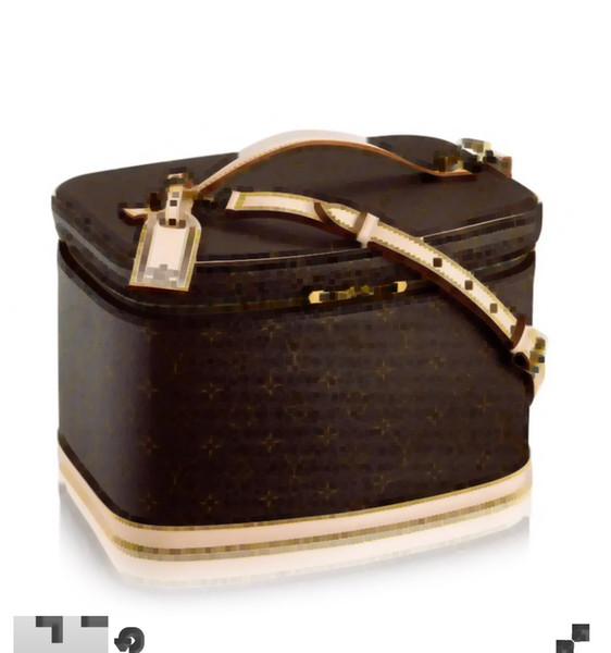 mulheres grande viagem agradável caixa de cosméticos M47280 sacola estojo de maquiagem bolsa CROSS bolsa de corpo de luxo M47515 M41439 M41114 N60024 N47516 M41348