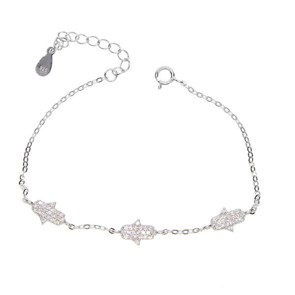 Cadena de plata esterlina Toggle broche de 2-3 Conector Para Pulsera Collar