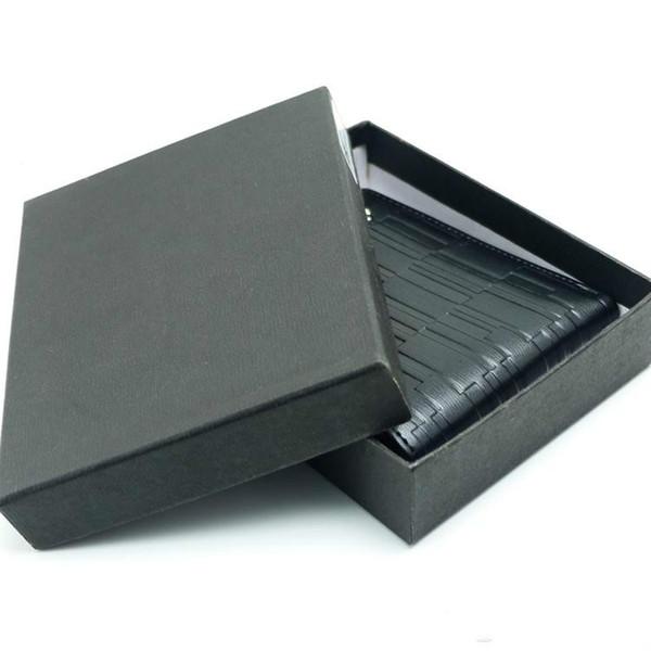 Новый высокое качество классика мужская роскошь бизнес MB натуральная кожа кошелек черный кошельки классика MT карты держатель бумажник кредитной карты
