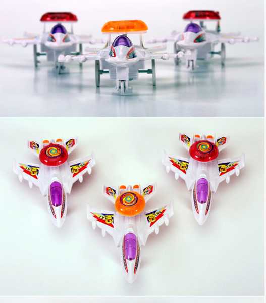 Cable lighting aircraft cable toys wholesale stall selling toys wind-up spring toy small aircraft lighting
