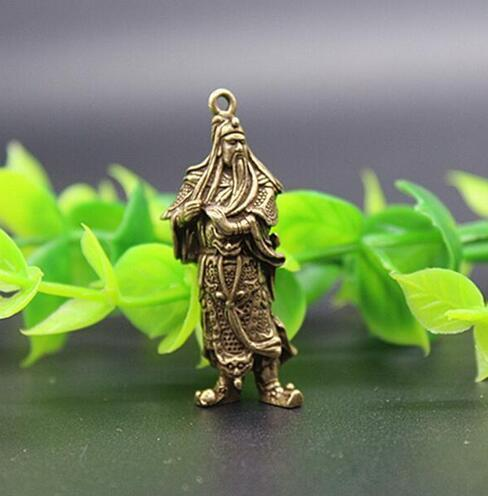 Chinese Pure brass elephant small pendant