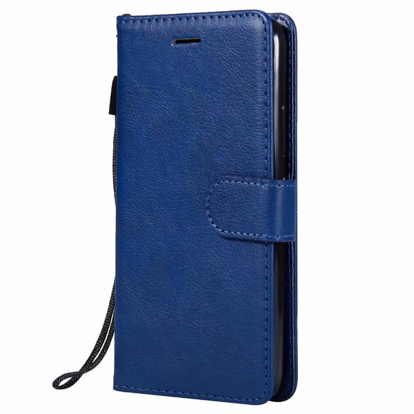 Wallet Case For Motorola Moto G5 Flip back Cover Pure Color PU Leather Mobile Phone Bags Coque Fundas For Moto G5