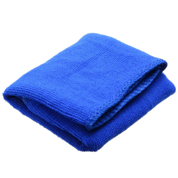 10pc 30x70cm Ultra-fiber Car Wash Towel Soft Thin Cloth Absorbent Duster Microfiber Car Cleaning For Automotive Household Blue