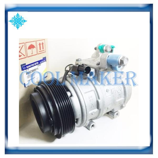 Car Air Conditioner Compressor >> Car Air Conditioner Compressor For Ssangyong Actyon Rexton Kyron 6652300511 Reciprocating Air Compressors Recommended Air Compressor From Autoshop24