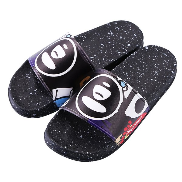 Slippers New Brand Letters Fashion Slides Mens Flip Flops Summer Fashion Sup 11