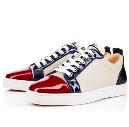 Size 36-46 Men Women Lead Leather With Mixed Spikes High Top Red Bottom Fashion Sneakers,Unisex Luxury Brand Flats,Comfortable Casual Shoes