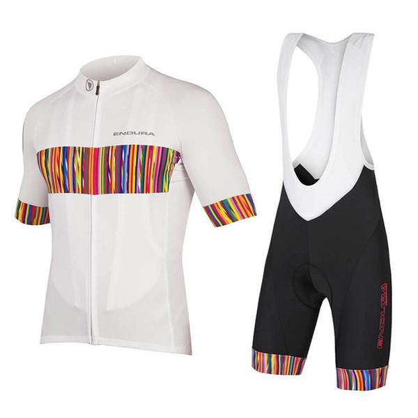 2018 Radtrikot Maillot Ciclismo Kurzarm und Radfahren (Latz) Shorts Radfahren Kits Strap Zyklus Trikots Ciclismo bicicletas B18062501