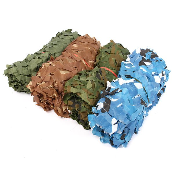 2x3M (6.6X10FT) Woodland leaves Camouflage Camo Army Hide Cover Net Camping Military Hunting 4 Colour Select