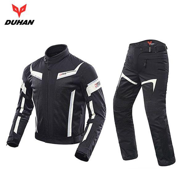Herren Kombinationen Auf Moto Großhandel 06 Yiyong88187 JackeHose SetD Atmungsaktive Von Racing Motorrad Duhan 1 Reitbekleidung OknwN80XP
